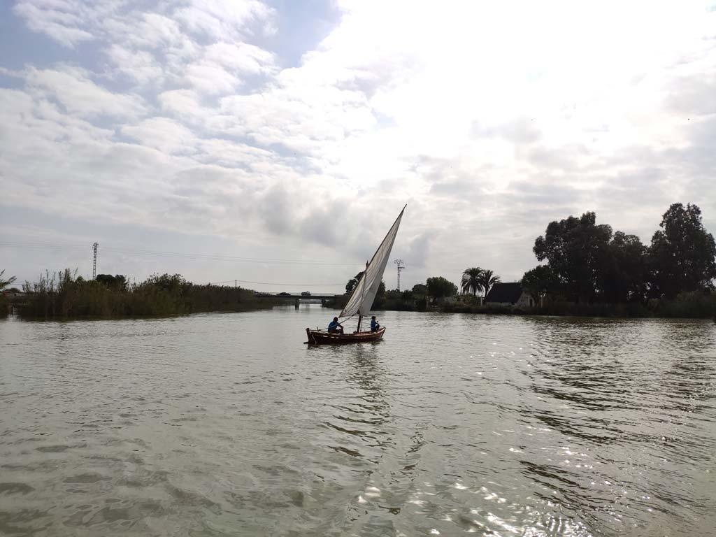 Barca a vela latina Albufera